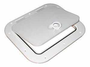 MARINE-PLASTIC-15-x-13-ACCESS-HATCH-INSPECTION-FOR-BOAT-amp-RV-FIVE-OCEANS