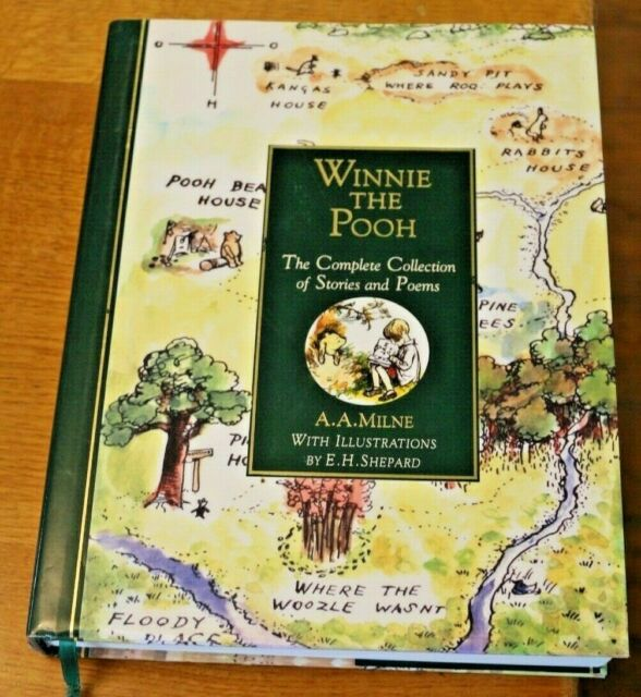 Winnie The Pooh The complete collection of stories & poems Hardback Dust Jacket