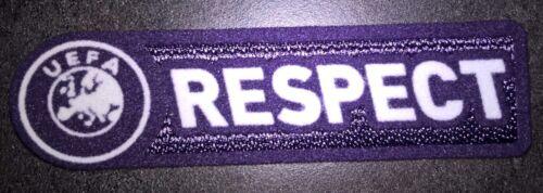 Europe Patch badge RESPECT pour maillot foot Europa et Champion/'s League  09//10