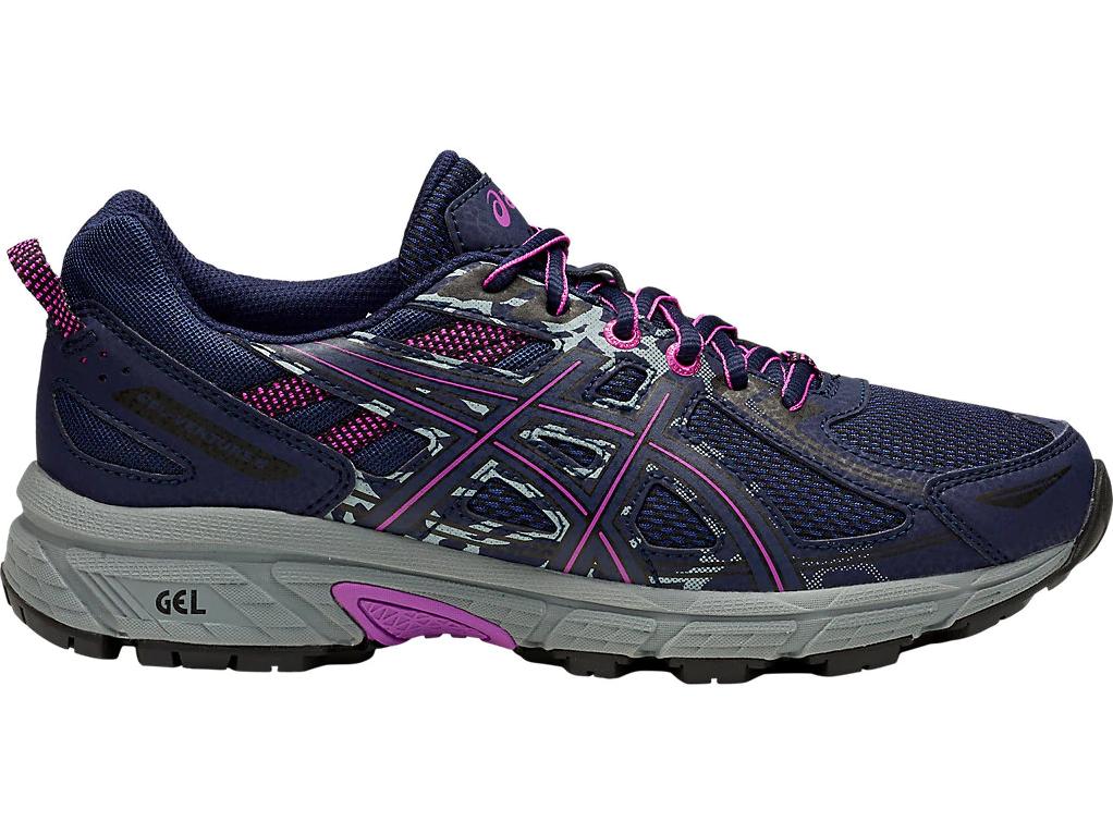 Asics Gel Venture 6 Womens Trail Running shoes (D) (400)