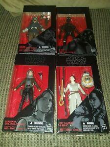 # 22 Star Wars the Black Series Jyn Erso # 23 Lot Eadu Jedha Cassian Andor
