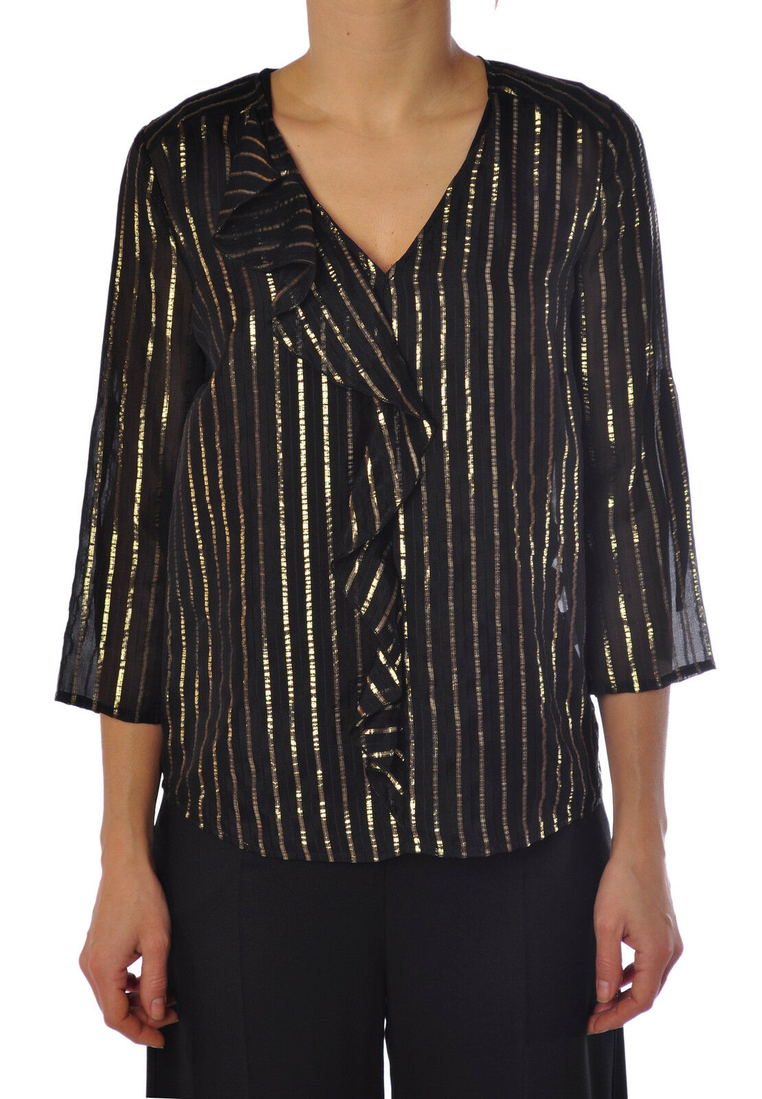 Patrizia Pepe  -  Shirt - Female - 46 - schwarz - 1343603B164040