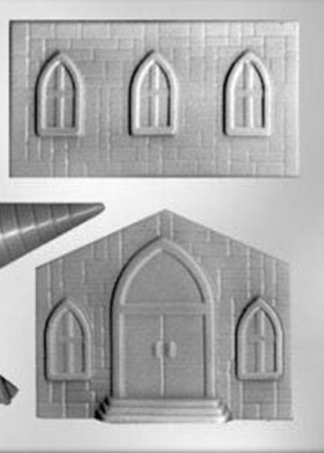 3D Church Building Chocolate Candy Mold from CK #7301 NEW
