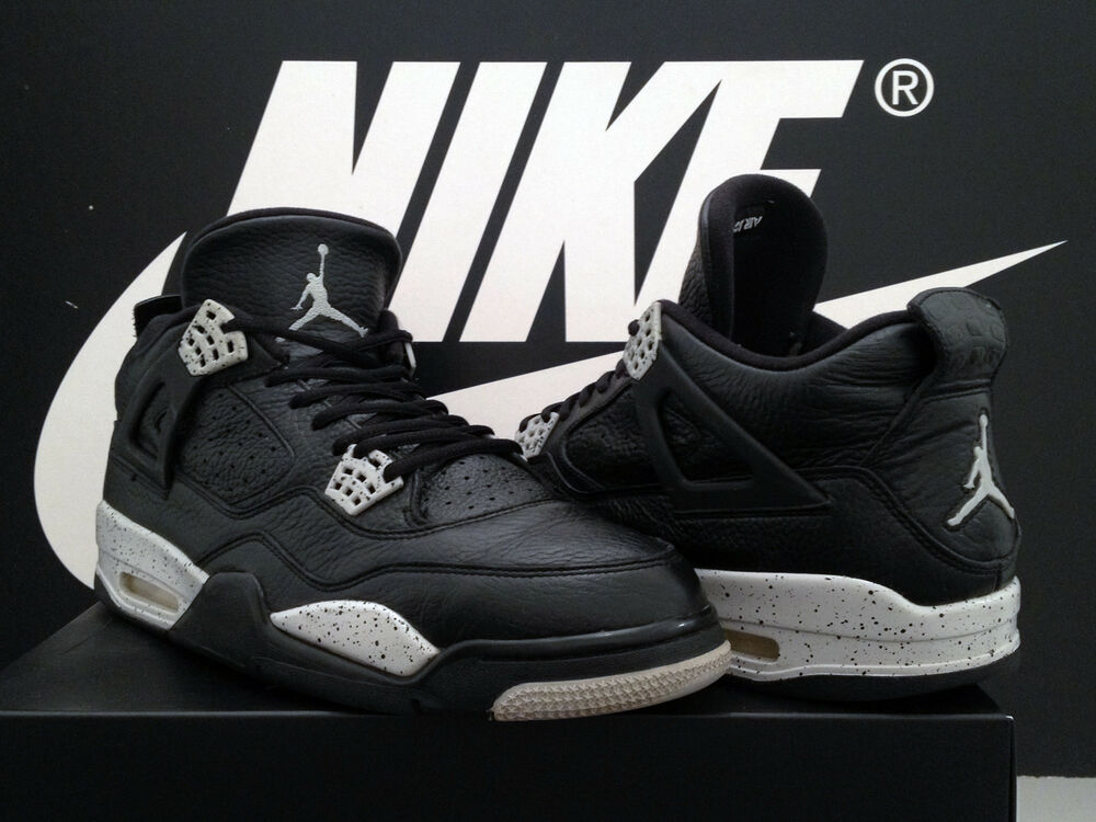 Vintage 2015 Air Jordan 4 Retro LS UK11 EU46 Oreo IV brouge 89 1 3 Infrarouge 6 OG Rare-