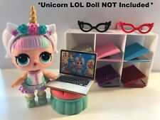LOL SURPRISE Dolls CUSTOM 3 PC Laptop Glasses ACCESSORIES