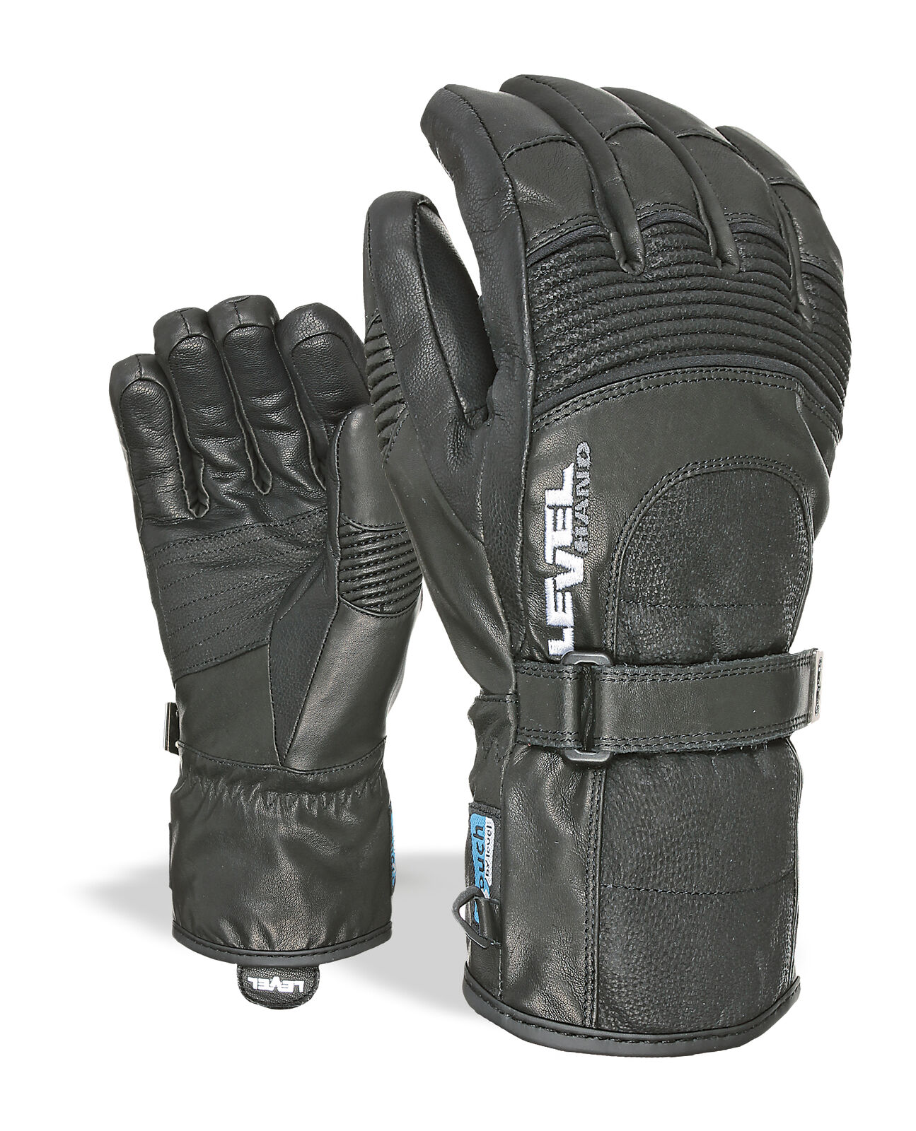 Level Guantes Bombardeo Negro Impermeable Transpirable Cálidos