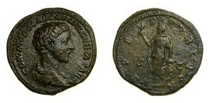 Commodus-as-Caesar-A-D-166-177-Struck-AD-175-176-at-Rome-Mint-VF-5176