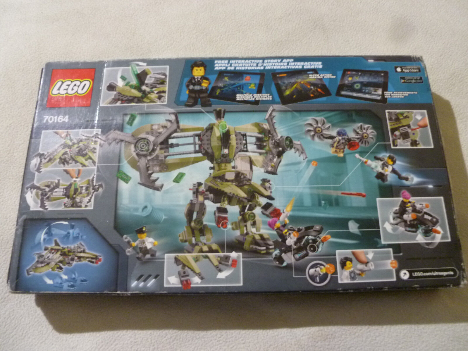 SEALED NEW IN BOX LEGO ULTRA AGENTS VS PSYCLONE 70164 HURRICANE HEIST NIB SET