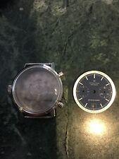 NOS vintage Hamilton chrono-matic Buren 11 dial & case