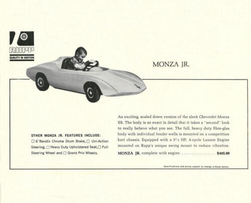 Vintage 1966 Rupp Monza Jr Go-Kart Ad