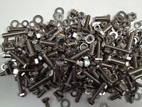 ASSORTED STAINLESS UNF - 330 - NUTS BOLTS &  WASHERS