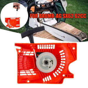 Chainsaw Recoil Starter For Baumr-AG SX62 62cc DMC6200CS Chain Saw Replacement
