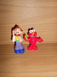 Elmo's World Mr Noodle & Elmo Figures Cake Toppers C