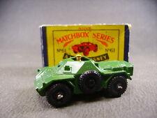 Matcbox lesney Moko Army Scout Car 61  (England 1960) + Box