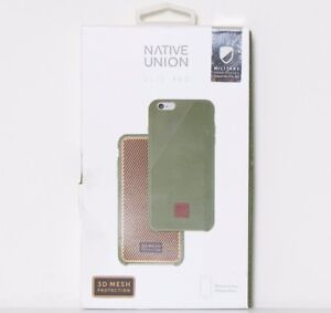 huge selection of c1acf 0acf9 Details about Native Union CLIC 360 Case for iPhone 6 Plus 6s Plus Waxed  Canvas Drop Proof OB