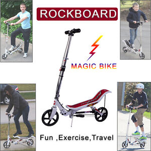 Magic-Rockboard-Scooter-Stand-On-Exercise-Bike-Outdoor-Trainer-Kick-Scooter