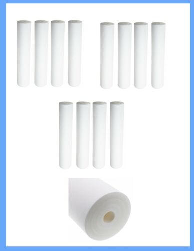 10 x 2.5 Inch Whole House Sediment Water Filter 12 Pack Standard 10 x 2.5 Inch
