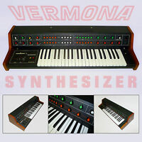 VERMONA - VINTAGE SOVIET GDR ANALOG SYNTHESIZER ussr synth russian german rare