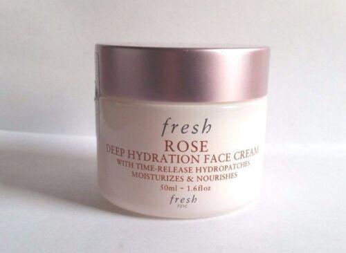 1 of 1 - Fresh Rose Deep Hydration Face Cream 1.6oz / 50mL Full Size Nwob - Free Shipping