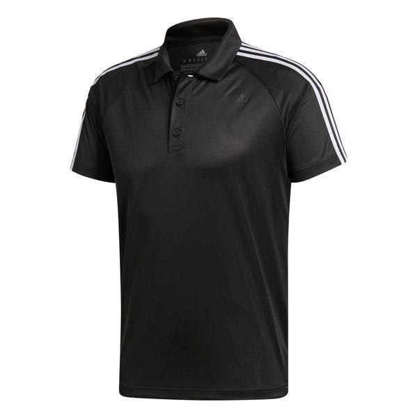 Adidas Herren Poloshirt D2M 3-Streifen Sportshirt Sportshirt Sportshirt T-Shirt Schwarz Weiß Neu    Züchtungen Eingeführt Werden Eine Nach Der Anderen  99e0f8