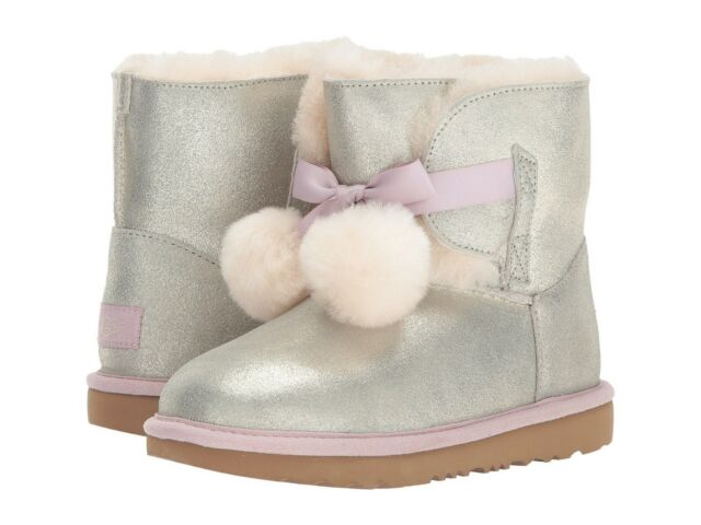 9e9904fe524 UGG Australia T Gita Metallic Gold Toddler Girls Boot 12 M 29