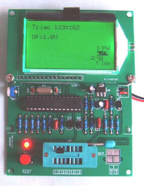 GM328 transistor tester \ ESR meter \ Cymometer \ square wave generator
