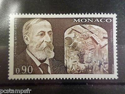 1972 Neu Moderater Preis Monaco Saint-saëns Yvert 869