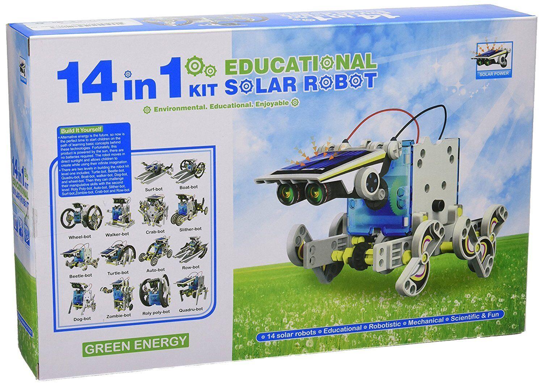 Robot Solar Solar Solar Kit Juguete de Construccion Robot Juegos Educativos Solar Niño Niña 97e422