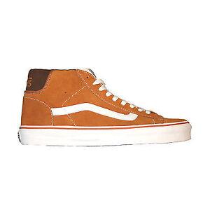 a78cc7b44c Vans NEW Mid Skool 77 Men s Trainer Sudan Brown Marshmallow Skate ...