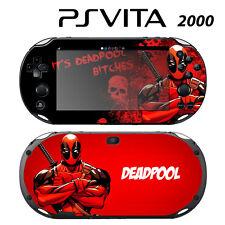 Vinyl Decal Skin Sticker for Sony PS Vita Slim 2000 Deadpool