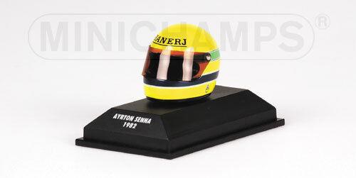 Formule Ford 2000 Ayrton Senna 1982 Helmet Helmet Casque 1.8 replica