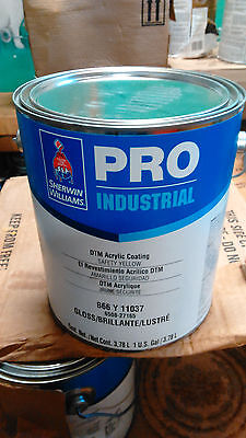 Sherwin Williams Industrial Dtm Waterbase Safety Yellow