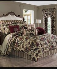 J QUEEN NEW YORK  Catherine King 10 Piece Comforter Set
