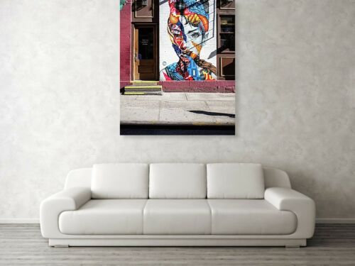 Audrey Hepburn  XXL 152x102 Alu Dibond PopArt//Malerei//Fotografie//Gemälde//Stadt//