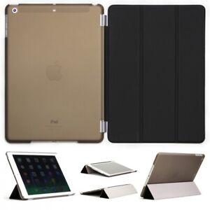 Apple-iPad-Air-Smart-Cover-Case-Housse-de-protection-cuir-synthetique-sac-etui-Ultra-Slim