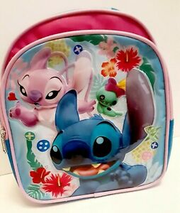 """Disney Lilo and Stitch 10/"""" Toddler Mini School Backpack"""