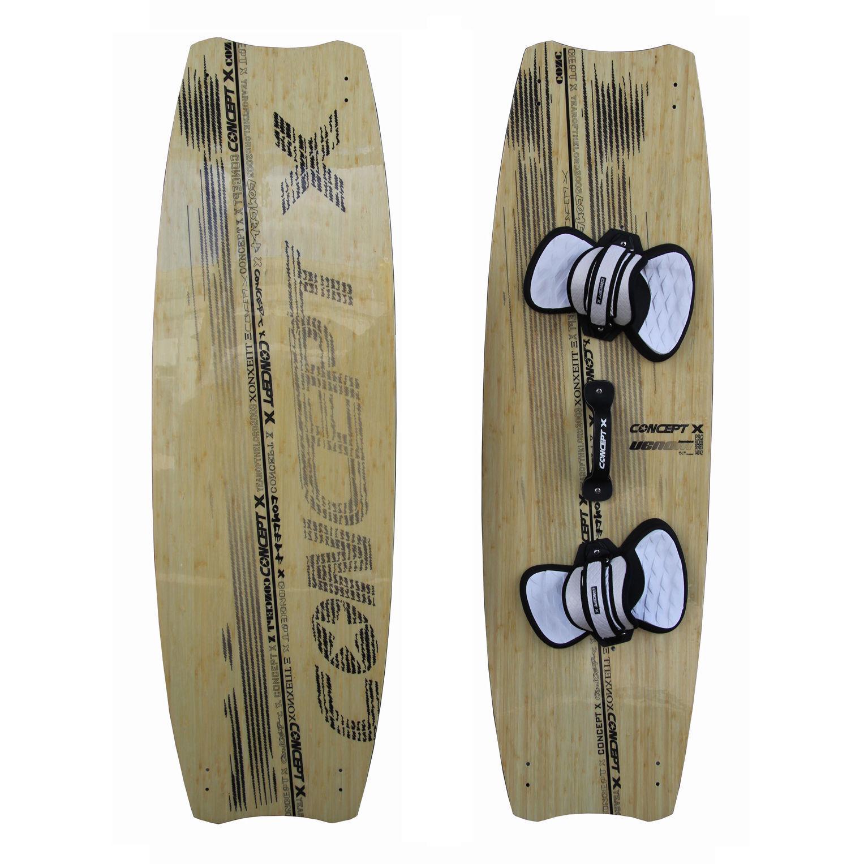 Concept X Regla Ltd Edición Madera 140 140 140 42 Completo Kiteboard Bambú Rebajado 694cd0