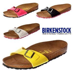 Birkenstock Madrid Women Ice Pearl Coral Pink Birko Flor Sandals