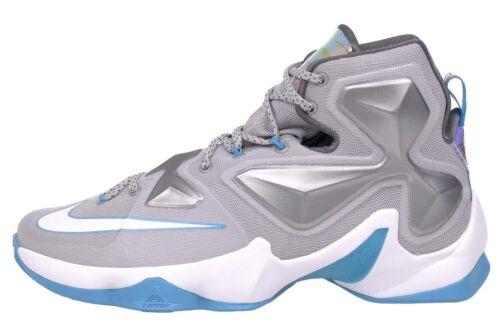 Edition Blanc Lagon Nike Hologramme Bleu Sz 13 Wolf Lebron Xiii Gris Elite W29EDHIY