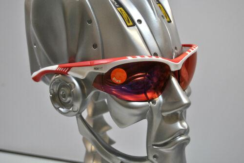 Occhiali RPJ RILEY White//Red Lens Shiny Racing Red//GLASSES RPJ RILEY WHITE//RED S