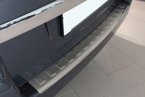 MATT gebürstet Ladekantenschutz V2A Edelstahl Abkantung für Opel Zafira B