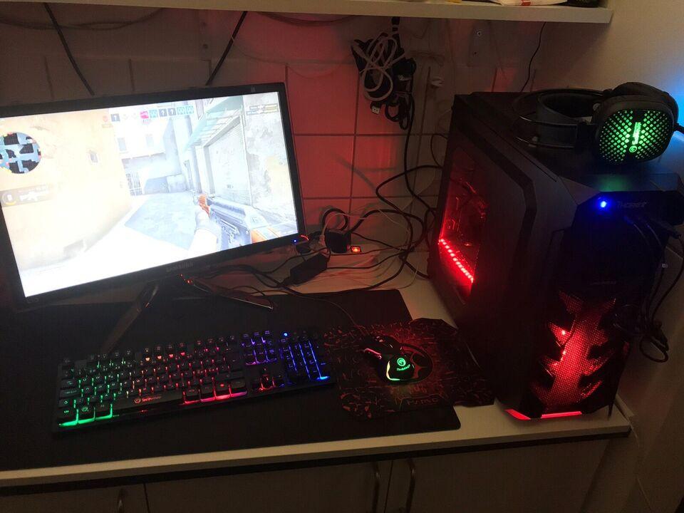 Selvbyg, Fed GAMER PC Setup, Perfekt