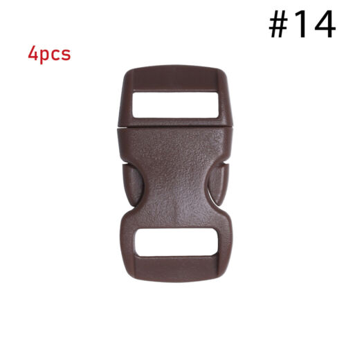Webbing Outdoor Tool Camp Bag Parts Side Release Buckle Dog Collar Strap