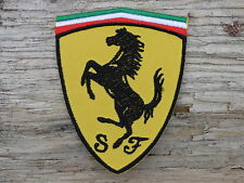 ECUSSON PATCH THERMOCOLLANT aufnaher toppa FERRARI automobile voiture course f1