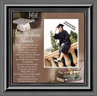 New The Graduate Stands Graduation Gifts College Graduation Frame 10x10 6770 Ebay