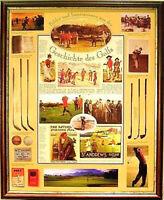 Plakat: Geschichte Golf, Golfsport, Golfen, Golfspiel