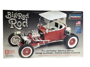 Factory Sealed, Lindberg, Big Red Rod, 1/8 scale plastic model kit #73044