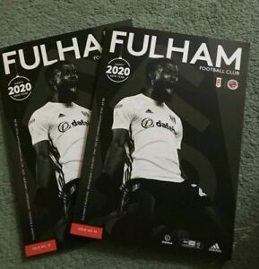 Fulham-v-Reading-Matchday-Programme-1-1-2020-FREE-DELIVERY-WITHIN-U-K