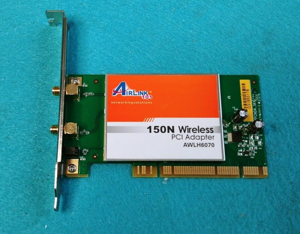 DRIVER FOR AIRLINK101 150N WIRELESS PCI ADAPTER