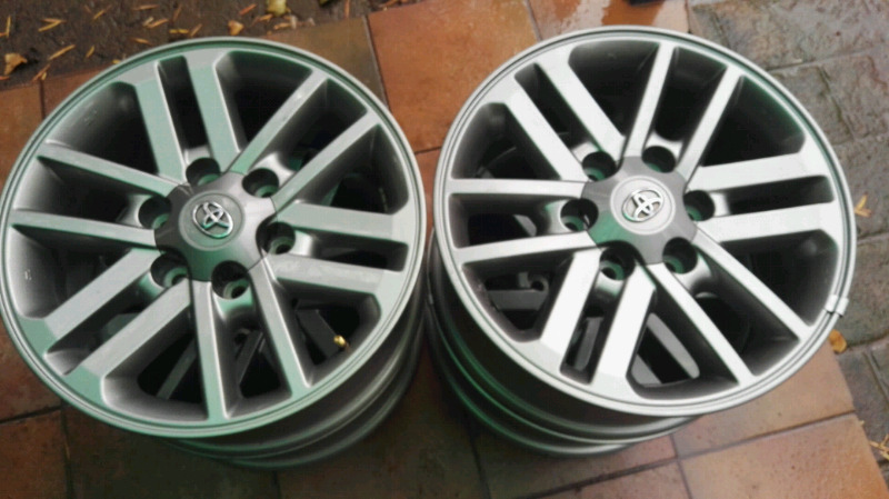 """17"""" Double spokes for Hilux"""